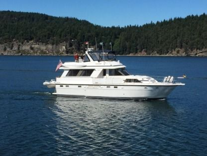 Charter Motorboat Jefferson Marquesa 52 Seattle