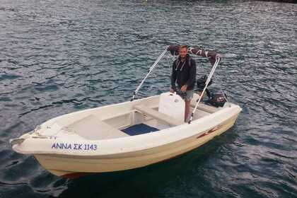 Rental Motorboat Karel 5 Corfu