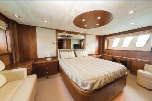 Motorboat Sunseeker Predator 72 M/Y ASPIRE OF LONDON for hire