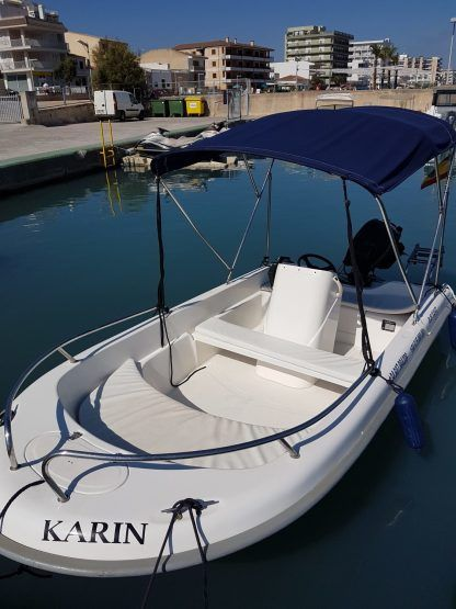 Rental Motorboat Astec Fiber 400 Can Picafort