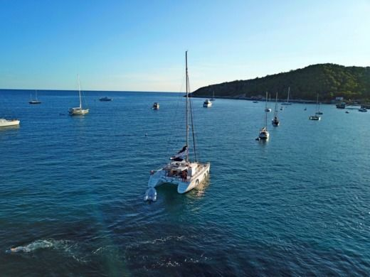 Rental catamaran in Sant Antoni de Portmany