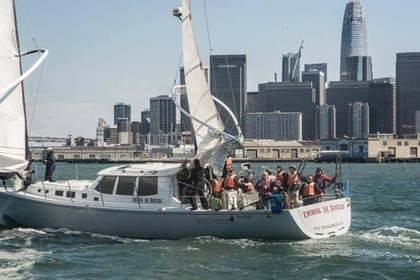 Rental Sailboat 22 meter Wyliecat sailboat Wylie 65 San Francisco
