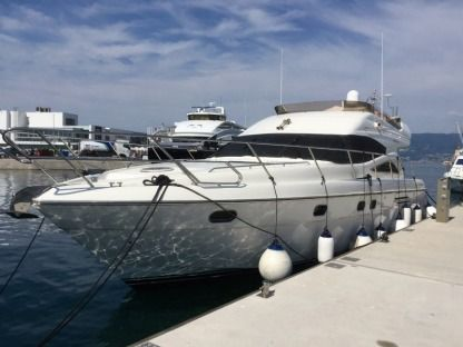 Charter Motorboat  Princess 52 Fly Bilice