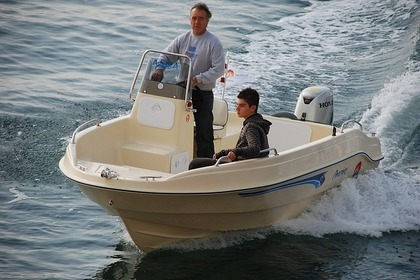 Hire Motorboat Proteus Afaia Heraklion