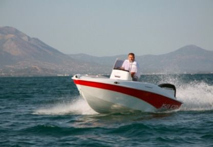 Rental Motorboat Compass 150 Kea-Kythnos
