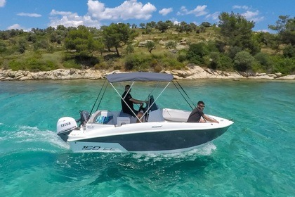 Rental Motorboat Compass 168cc Chalkidiki