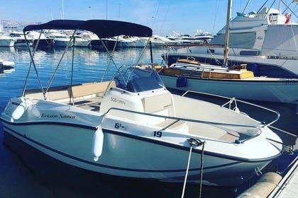 Hire Motorboat QUICKSILVER open 505 Altea