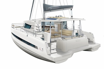 Rental Catamaran Bali Bali 4.1 with watermaker Sint Maarten