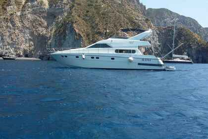Charter Motorboat ALPA 52 fly Milazzo