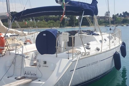 Rental Sailboat JEANNEAU SUN ODYSSEY 37 Gallipoli