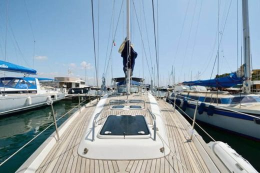 Beneteau 50 in Aeolian Islands for hire