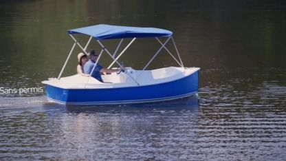 Rental Motorboat Ruban Bleu Ace Gruissan