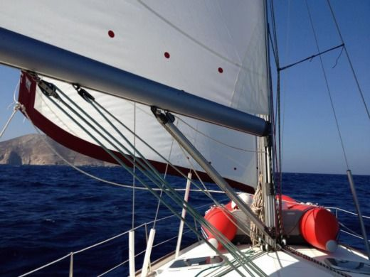 Beneteau 411 in Athens