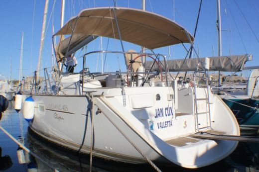Sailboat Beneteau Oceanis Clipper 423