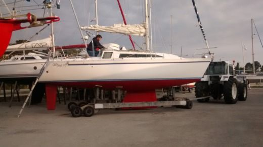 Sailboat GIBERT MARINE GIBSEA 92 peer-to-peer