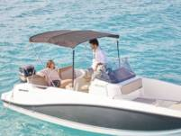 Motorboat Quicksilver 605 for hire