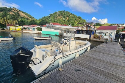 Hire Motorboat COBIA 217CC Gourbeyre