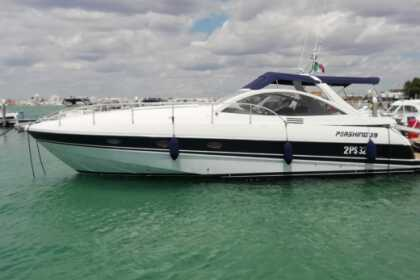 Hire Motorboat Pershing Luxury yacht all'inclusive Porto Cesareo