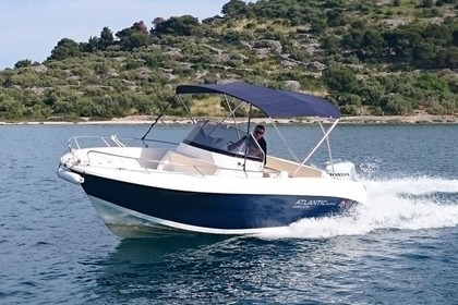 Charter Motorboat Atlantic 670 Open Tisno