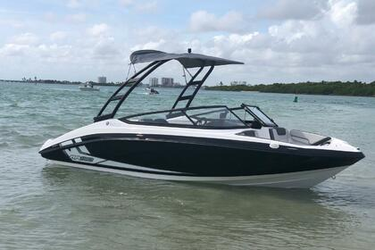 Rental Motorboat Yamaha AR190 Miami