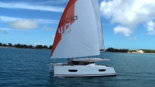 Catamarán Fountaine Pajot Lucia 40