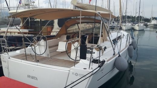DUFOUR 460 Grande Large in Lefkada for hire
