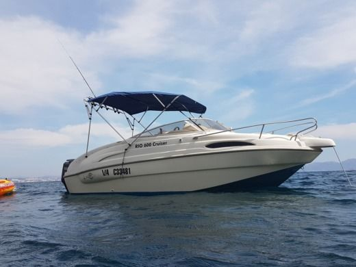 Rio 600 Cruiser in Cassis for hire