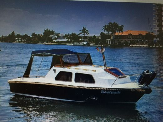 Charter Motorboat Motorboot Mit Charme Cruiser Fort Lauderdale