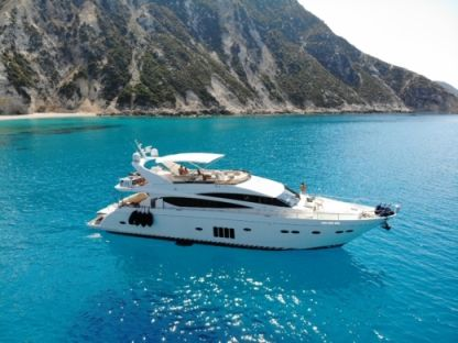 Charter Motorboat Princess 85 Flybridge Patras