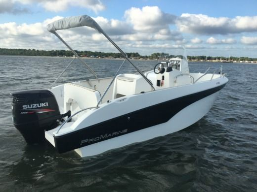 Pro Marine Belone 640 in Andernos-les-Bains for hire