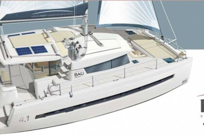 Hire Catamaran Bali Bali 4.1 O.V. with watermaker & A/C - PLUS Kotor