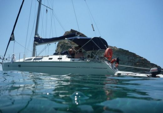 Jeanneau Sun Odyssey 37 in Athens for hire