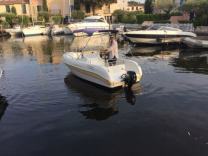 Rental Motorboat Aquamar Open Port Grimaud