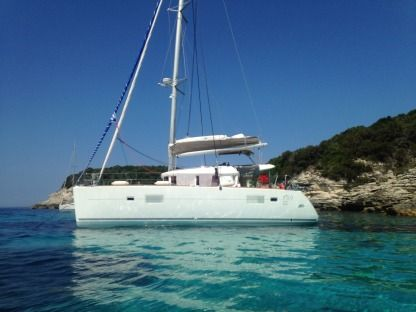 Location Catamaran Lagoon Lagoon 400 S2 Menton