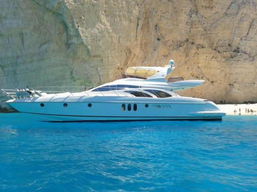 Azimut 62 in Kyllini for rental