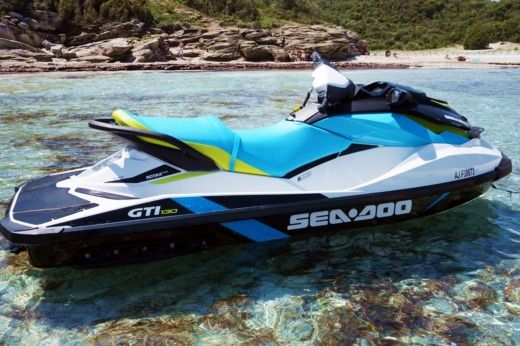 Seadoo GTI 130 in Saint-Florent for hire