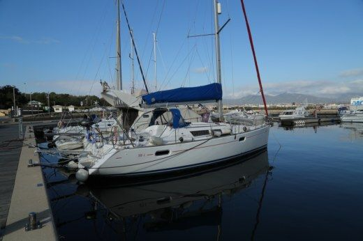 Rental sailboat in Olbia