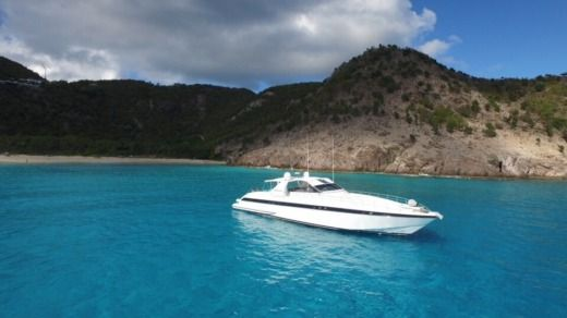 Charter Motorboat Over Marine Mangusta 80 Philipsburg