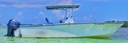 Charter Motorboat Sea Craft 23 Console Fishing Key West