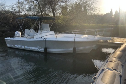 Rental Motorboat PROMO OPEN WHITE SHARK 225 Carnon