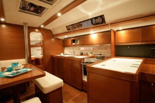 Sailboat Dufour 405 Grand Large (3 Cabins, From 2013) peer-to-peer
