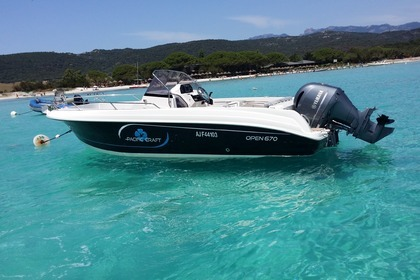 Miete Motorboot PACIFIC CRAFT OPEN 670 Porto-Vecchio