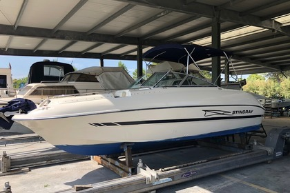 Miete Motorboot STINGRAY 220 DS Lignano Sabbiadoro