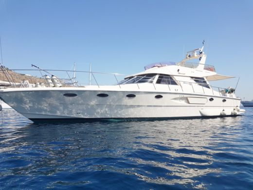 Charter motorboat in Mykonos