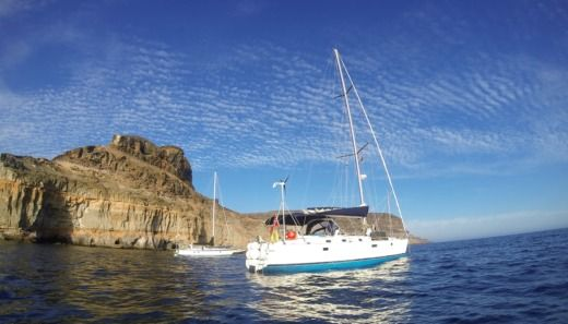 Rental sailboat in Las Palmas de Gran Canaria