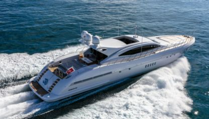 Charter Motorboat Mangusta 108 Cannes