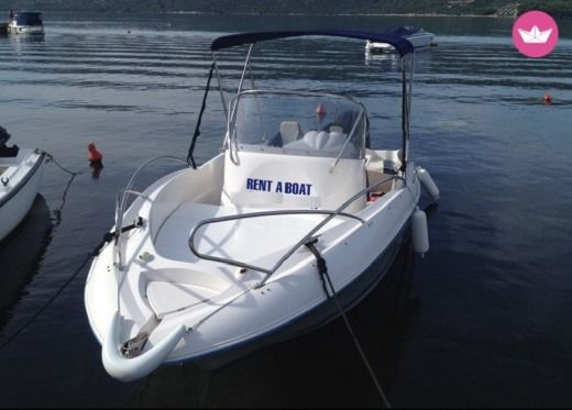 Quicksilver 555 Commander in Trogir for hire
