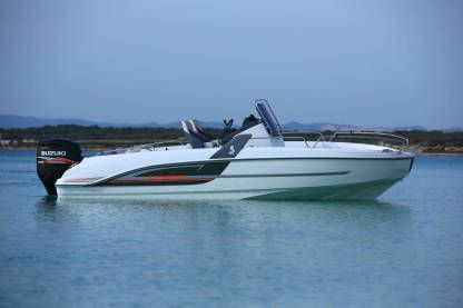 Rental Motorboat Beneteau Flyer 6.6 Spacedeck - Palamós Palamós