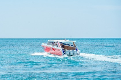 Charter Motorboat Speedboat 3 Engines Phuket