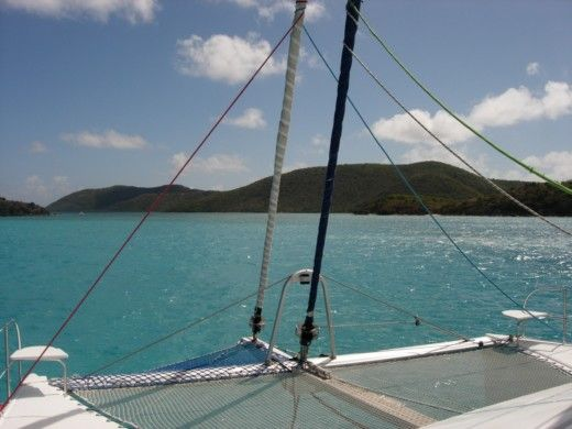 Charter catamaran in Saint-Martin peer-to-peer